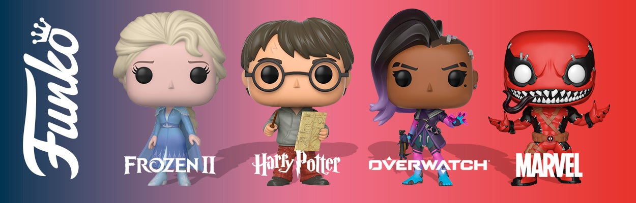 Funko POP samlefigurer Frozen, Harry Potter, Overwatch, Marvel, Fortnite og mer!