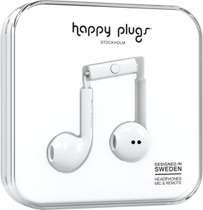 Happy Plugs Earbud Plus White