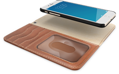 iDeal of Sweden Magnet Wallet+ iPhone 6/6S/7/8 Brown