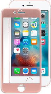 iZound 3D Grizzly Glass Full Frame iPhone 6/6S Rose Gold