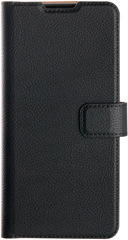 XQISIT Slim Wallet Selection Anti Bac for Galaxy S21 black