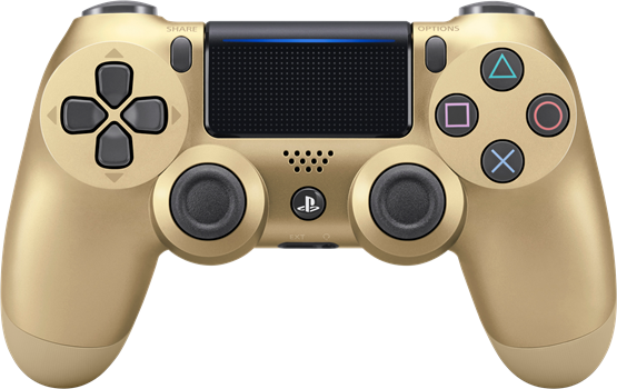 Sony Dual Shock 4 Controller V2 Gold (PS4) (Original)