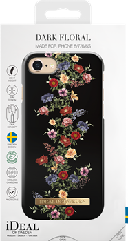 iDeal of Sweden Fashion Case iPhone 6/6S/7/8 Dark Floral