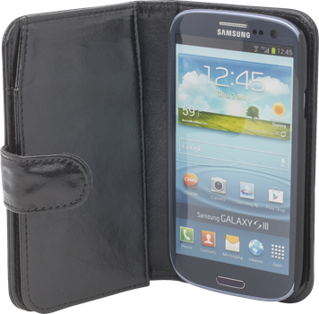 iZound Wallet Case Plus Samsung Galaxy S III Black