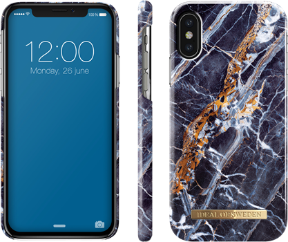 iDeal of Sweden Fashion Case iPhone X Midnight Marble