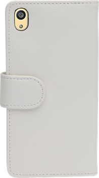 iZound Leather Wallet Case Sony Xperia Z5 White