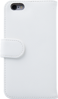 iZound Leather Wallet Case iPhone 6/6S Plus White