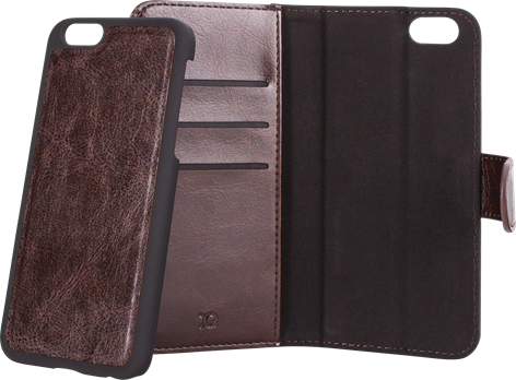 Xqisit WalletCase Eman iPhone 6/6S Brown