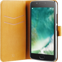 Xqisit Slim Wallet Selection Lenovo Moto G5 Black