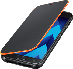 Samsung Neon Flip Cover Galaxy A3 (2017) Black