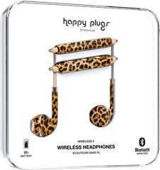 Happy Plugs Earbud Plus Wireless II Leopard