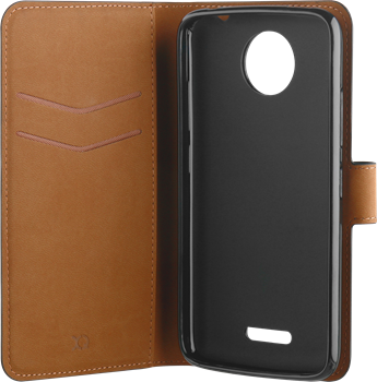 Xqisit Slim Wallet Selection Moto C Plus Black
