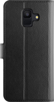 Xqisit Slim Wallet Selection Samsung Galaxy A6 (2018)  Black