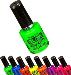 Nail Polish Neon UV Assorted Colours