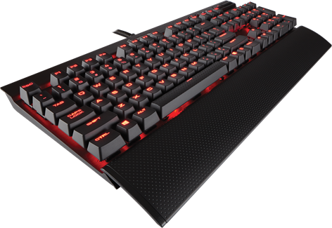 Corsair Gaming K70 LUX Red LED MX Red