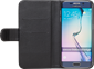 iZound Leather Wallet Case Samsung Galaxy S6 Edge Black