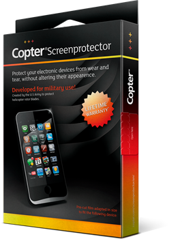 Copter Screenprotector Samsung Galaxy S8 Plus
