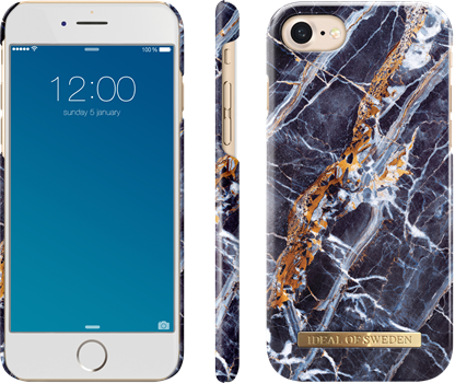 iDeal of Sweden Fashion Case iPhone 6/6S/7/8 Midnight Marble