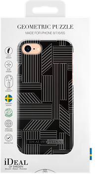 iDeal of Sweden Fashion Case iPhone 6/6S/7/8/SE Geometric Puzzle