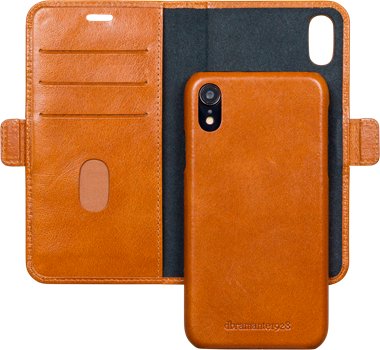 D.Bramante Lynge iPhone XR Golden Tan