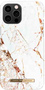 iDeal of Sweden Fashion Case iPhone 12 PRO MAX Carrara Gold Marble