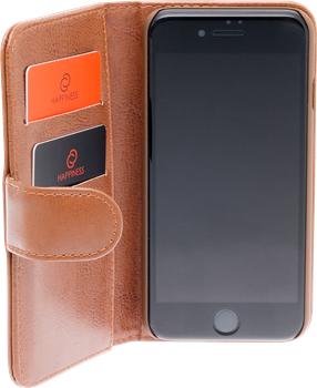 iZound Leather Wallet Case iPhone 7/8 Brown