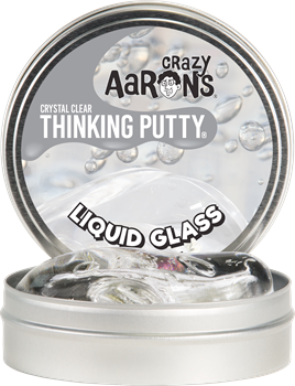 Crazy Aarons Thinking Putty Crystal Clear Liquid Glass