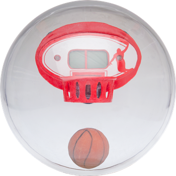 Electronic Basketball Globe Game