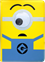 "Minions Universal Cover 10-11"" Googly Eye"