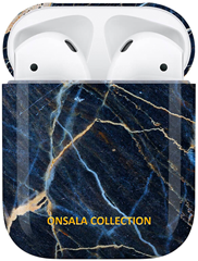 Onsala Airpods Fodral Black Galaxy Marble