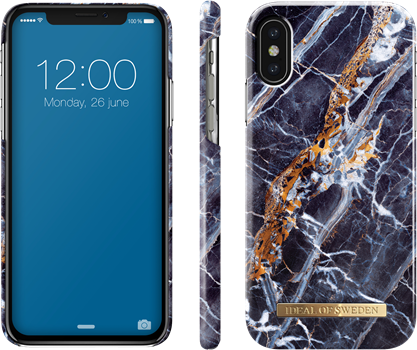 iDeal of Sweden Fashion Case iPhone X/XS Midnight Marble
