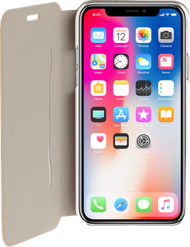 iZound Slim Wallet iPhone X White
