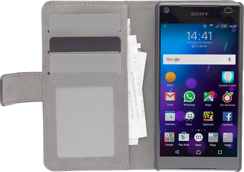 iZound Magnetic Wallet Sony Xperia Z5 Compact Black