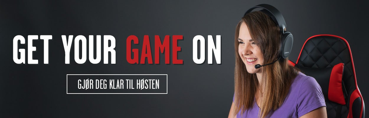 Gaming for  høsten - gamingheadset, tastatur, gamingmus mm. HyperX, SteelSeries, Razer mfl.