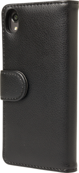 iZound Leather Wallet Case Sony Xperia X Black