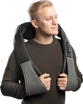 Neck & Back Massager Grey