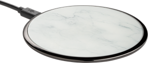 Avity Wireless Qi Charger 10 W Carrara Marble