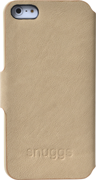 Snuggs Diary Cover iPhone 5/5S Beige