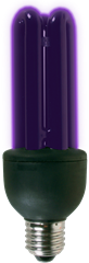 Disco Ultraviolet Black Light Bulb