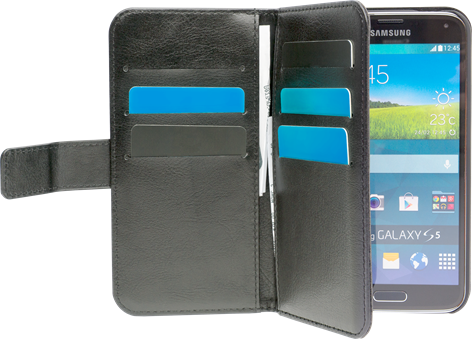 iZound Wallet Case Multi Samsung Galaxy S5 Black