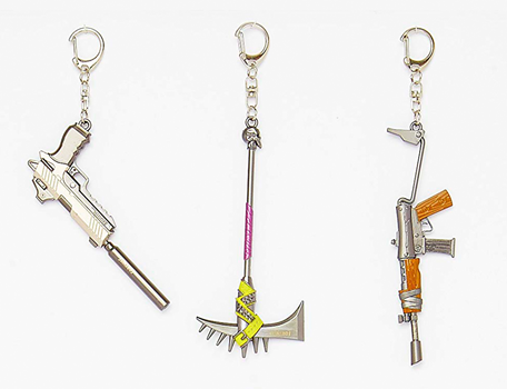 Fortnite Metal Keychain
