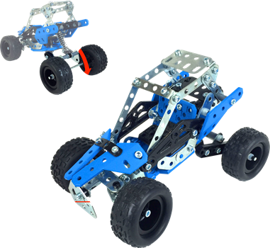 Meccano 15 Model set Cars