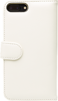 iZound Leather Wallet Case iPhone 7/8 Plus White