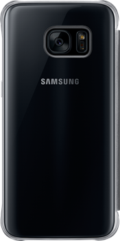 Samsung Clear View Cover Galaxy S7 Black