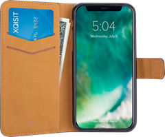 Xqisit Slim Wallet Selection iPhone X/XS Black