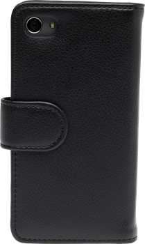 iZound Leather Wallet Case Sony Xperia Z5 Compact Black
