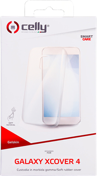 Celly TPU Cover Samsung Galaxy Xcover 4 Clear