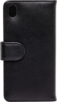 iZound Leather Wallet Case Sony Xperia M4 Aqua Black
