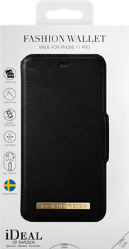iDeal of Sweden Fashion Wallet iPhone X/XS/11 Pro Black