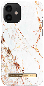 iDeal of Sweden Fashion Case iPhone 12 Mini Carrara Gold Marble